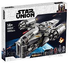 Конструктор аналог лего Мандалорец LEGO Star Wars The Mandalorian  75292 лепин KING 60017 Лезвие бритвы