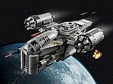Конструктор аналог лего Мандалорец LEGO Star Wars The Mandalorian  75292 лепин KING 60017 Лезвие бритвы, фото 4