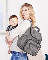 Сумка - рюкзак для мамы Forma, серая (Skip Hop, США)