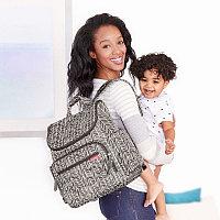 Сумка - рюкзак для мамы Forma, Grey Feather (Skip Hop, США)