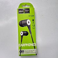 Наушник проводные UF-309 earphone
