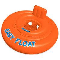 Круг для плавания My Baby float, с сиденьем, d76 см, от 1-2 лет, 56588EU INTEX