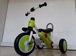 """Детский трехколесный велосипед """"Adil"""" с фонарем и мелодиями. Kaspi RED. Рассрочка."""