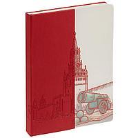Блокнот «Города. Москва», красный, фото 1