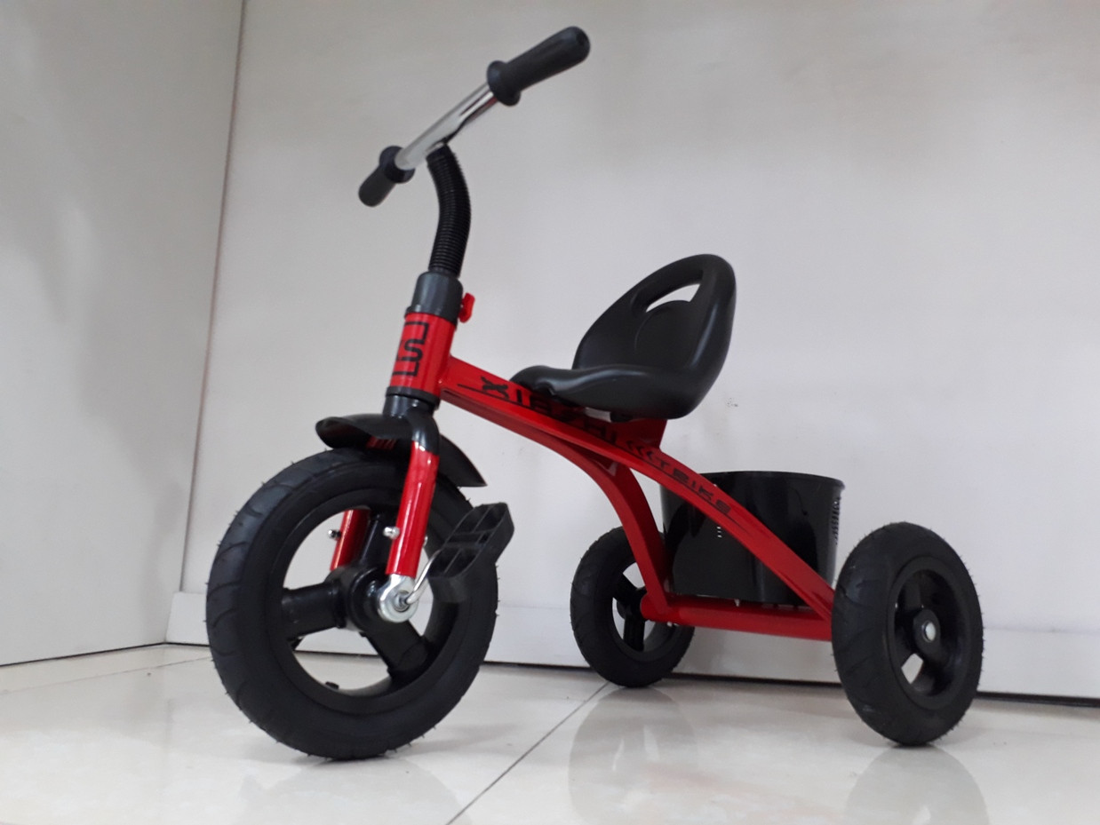 """Детский трехколесный велосипед """"XS"""" с резиновыми колесами!"""