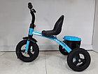 """Детский трехколесный велосипед """"XS"""" с резиновыми колесами!, фото 2"""