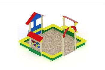 Песочный дворик Теремок