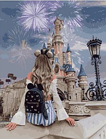 """Картина по номерам """"Диснейленд в Париже"""", 40х50 см"""