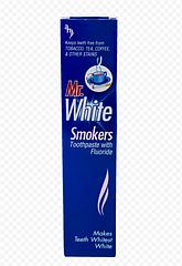 Отбеливающая зубная паста Mr.White