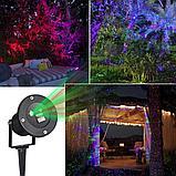 Проектор лазерный уличный с пультом., фото 7