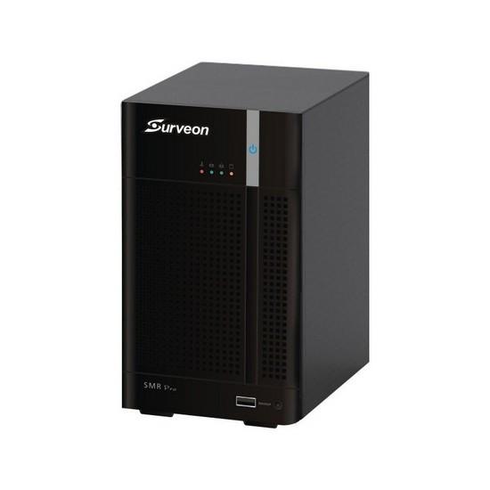 Сетевой видеорегистратор, Surveon, SMR2016, 16 каналов, Настольный, 2 интерфейса Ethernet (RJ-45)