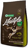 456755 Nature s Protection GF LifeStyle Poultry, корм для взрослых собак всех пород с птицей, уп.1,5 кг.