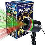 Лазерный новогодний звездный проектор Star Shower, фото 3