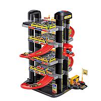 Игровой набор Гараж - Парковка пятиярусная 9188