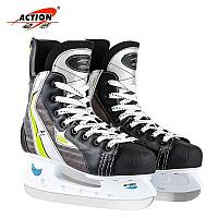 Коньки хоккейные Action, фото 1