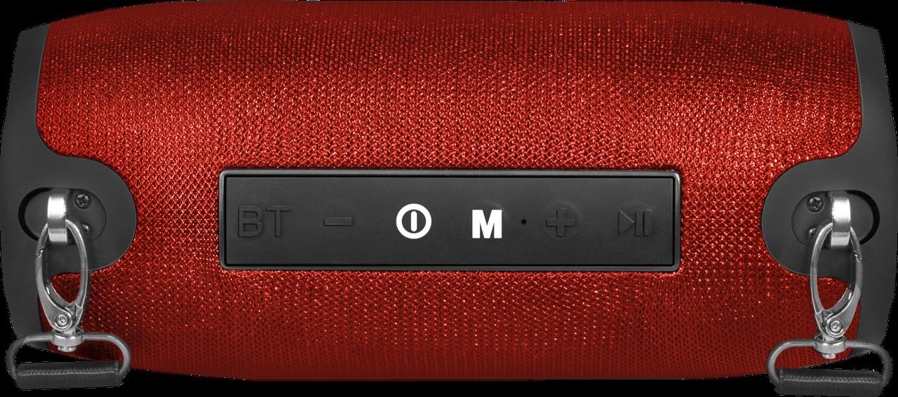 Defender 65903 Портативная акустика Enjoy S900 красный, 10Вт, BT/FM/TF/USB/AUX - фото 4