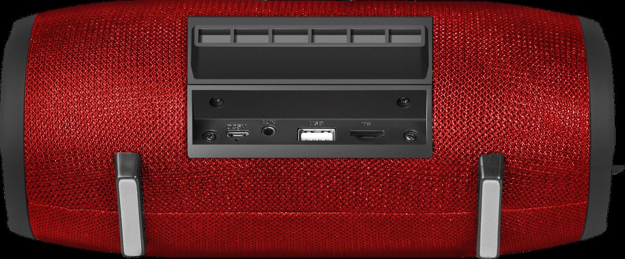 Defender 65903 Портативная акустика Enjoy S900 красный, 10Вт, BT/FM/TF/USB/AUX - фото 6