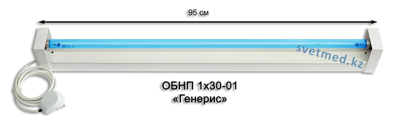 Облучатель бактерицидный настенный ОБНП 1х30-01 Генерис
