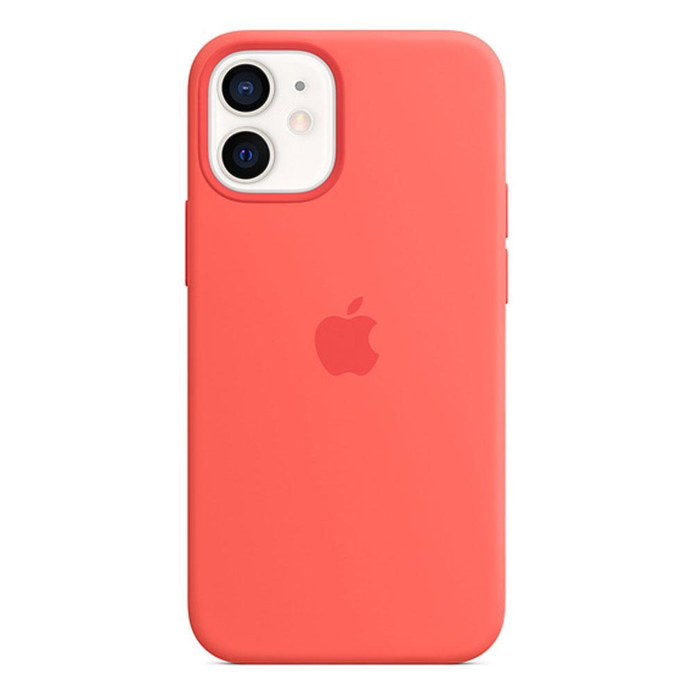 Оригинальный силиконовый чехол для Apple IPhone 12 mini c MagSafe - Pink Citrus