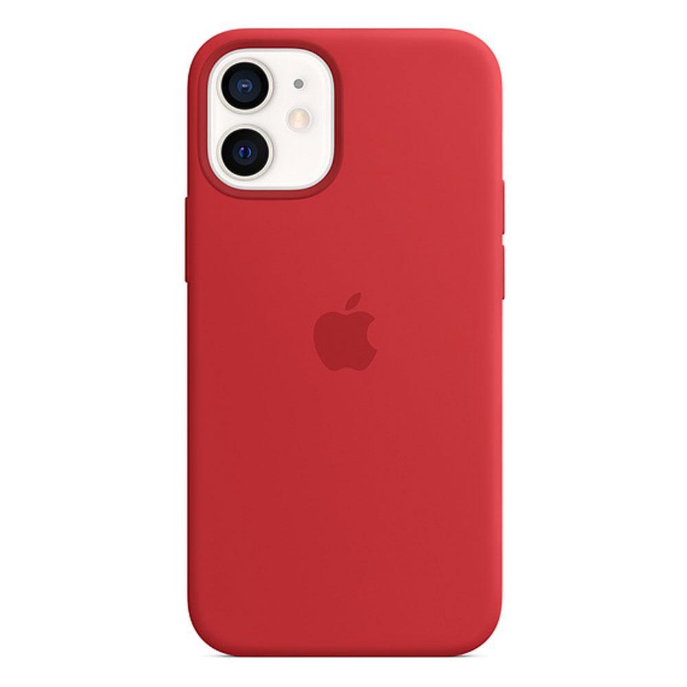 Оригинальный силиконовый чехол для Apple IPhone 12 mini с MagSafe - (PRODUCT)RED