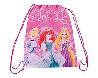 Сумка-рюкзак для обуви Princesses, с дополнительным карманом. Размер 43х34 см.