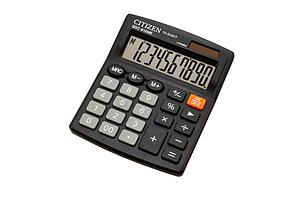 Калькулятор Citizen SDC-810NR (черный)