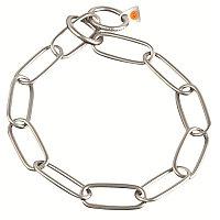 Ошейник-цепочка Long Link 76см 4мм 85кг нержавеющая сталь матовая Sprenger арт.5160407665