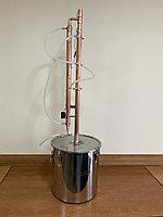 Самогонный медный аппарат Tavalga 25 литров, медная колонна