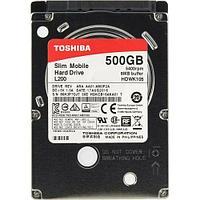 "Жесткий диск  TOSHIBA 500Gb SATA 6Gb 2.5"" HDWK105UZSVA"