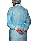 Одноразовый медицинский халат (с манжетом), фото 2