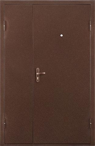 Металлическая дверь Квартет DL МЕТ-МЕТ