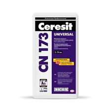 Ceresit СN 173 Высокопрочная самовыравнивающаяся смесь (толщина слоя 5-70 мм), 25 кг
