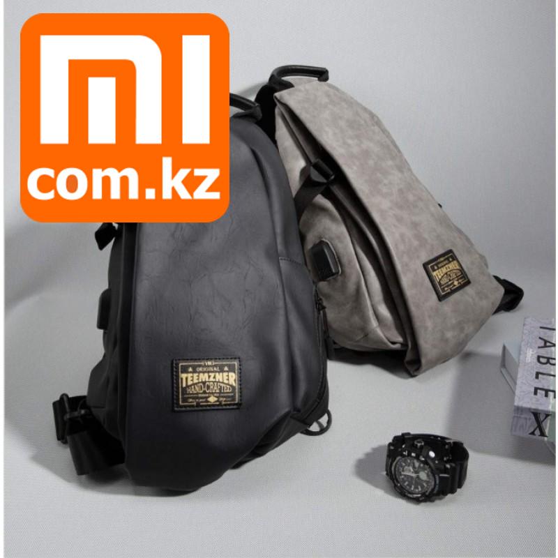 Xiaomi Mi Fast fish Fashion Shoulder Bag, сумка через плечо с USB выходом. Оригинал. Арт.6635 - фото 1
