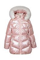 Детская для девочек зимняя розовая куртка Bell Bimbo 193007 св.розовый 104-56р.