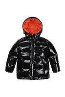 Детская для мальчиков осенняя черная куртка Bell Bimbo 193026 черный 104-56р.