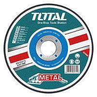 Диск отрезной по металлу 180х1.6х22.2мм TOTAL арт.TAC2211802
