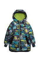 Детская для мальчиков зимняя куртка Bell Bimbo 183028 набивка/салат 104-56р.