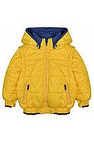 Детская для мальчиков осенняя желтая куртка Bell Bimbo 163064 лимон 104-56р.