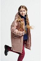 Детская для девочек осенняя бежевая куртка Bell Bimbo 173025 св.бежевый 134-68р.
