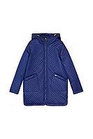 Детская для девочек осенняя синяя куртка Bell Bimbo 173025 т.синий 140-72р.
