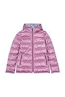 Детская для девочек осенняя розовая куртка Bell Bimbo 173057 пепельно-розовый 140-72р.