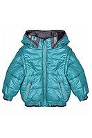 Детская для мальчиков осенняя бирюзовая куртка Bell Bimbo 163064 изумруд 98-56р.