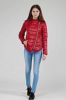 Детская для девочек осенняя красная куртка Lona 7508И красный 152-76р.