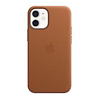 Оригинальный кожаный чехол для Apple IPhone 12 mini с MagSafe - Saddle Brown