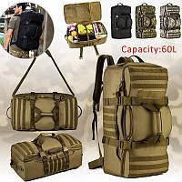 Сумка - рюкзак 60 л, 2в1