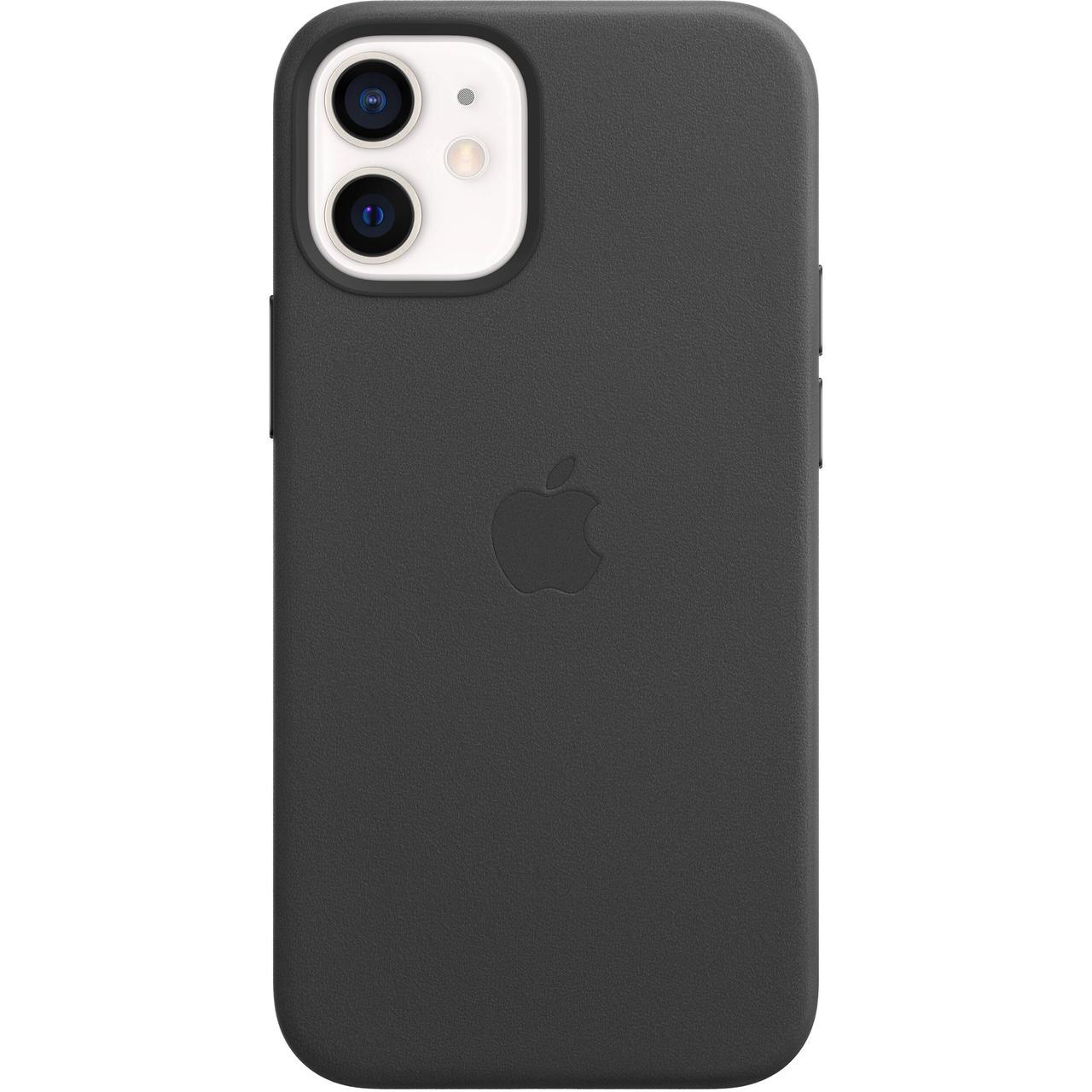 Оригинальный кожаный чехол для Apple IPhone 12 mini с MagSafe - Black