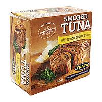 Trata Smoked Tuna With Lemon and Oregano, копченый тунец с лимоном и орегано, 160 гр