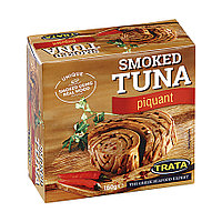 Trata Smoked Tuna Piquant, копченый, пикантный тунец, 160 гр