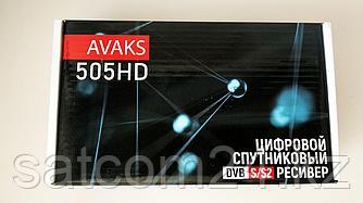 Спутниковый ресивер Avaks 505 HD