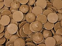 Шоколад молочный в дисках 30% (фасовка 250гр), IRCA Италия